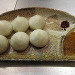 麺匠 呉屋 - 丸ぎょうざ:380円