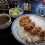 マサラ - カキフライカレー大盛り(830+150円) 11.10.22.