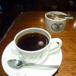 キイトス茶房 - ケーキセットの珈琲