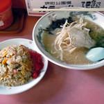 力ラーメン - 「ラーメンミニ焼めし」810円