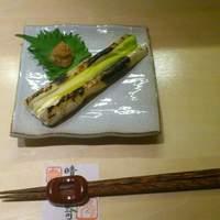 串処  鳥人 - 2月限定メニュー「下仁田ねぎ一本焼き」