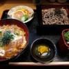 あたらし - 料理写真:鴨丼、鴨ミニせいろ 上定食