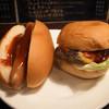 ほそやのサンド - 料理写真:ホットドッグ、チーズバーガー