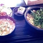 ノルド - 鮭とシソの葉炒めご飯(ランチセット)