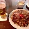 ダルウィニー - 料理写真:豚たま 生ビール