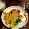 ヴィヴィ食堂 - 料理写真:ヴィヴィ食堂 @上板橋 日替おすすめ エビフライ 500円