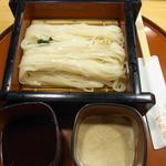 稲にわうどん 割烹 日本橋 古都里 - ざるうどん