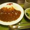 峠カフェ・レスト - 料理写真:カツカレー(サラダ付き)
