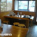 田舎打ち 麺蔵 - 2012年2月 店内