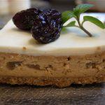 カフェ エチカ - 大人のキャラメルチーズケーキ