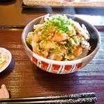和伊んや - 海老と野菜のかき揚げセット ¥950