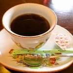 和伊んや - ランチセット+100円 「ホットコーヒー」