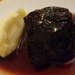11573690 - 牛ほほ肉の赤ワイン煮。