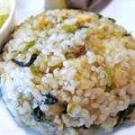 Cafeここたの - 鮭と高菜の混ぜご飯
