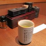 天ぷら食堂 天八 - テーブル