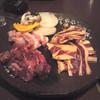 焼肉 一徳 - 料理写真:食べ放題の盛り合わせ4品