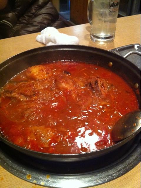 韓国家庭料理 マンナ