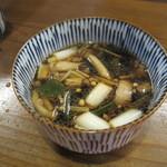 志ま平 - 鴨汁
