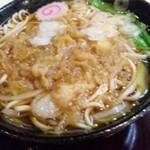 満留賀 - たぬき蕎麦