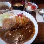 洋食 キムラヤ - 2012.2カツカレー¥600