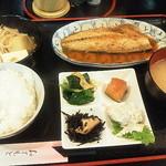 和食亭 - 煮魚定食(さばみそ)750円