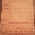 一蘭 - オーダー用紙