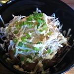 麺童虎徹 - 炙りちゃーしゅー丼 350円