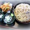 ゆで太郎 - 料理写真:特もり(700g)そばとかき揚