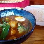 SAMA - シーフードカリー1200円