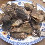 谷川水産 - 焼き牡蠣・蒸し牡蠣食べ放題