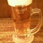 肉汁餃子製作所 ダンダダン酒場 - 生ビール:550円