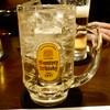 オーララ - ドリンク写真:サントリー角ハイボール ¥360