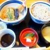 手打ち蕎麦処 辻九 - 料理写真:天丼と冷そばのセット1000円