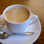 かれぇ工房 - ランチセットのドリンク・・・今回はホットコーヒーで