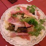 ル・シャレー - 生ハムのサラダ