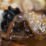 スープカレー トムトムキキル - カレーには珍しいキクラゲ入りコリコリ