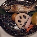 翡翠之庄 - エノハ(ヤマメ)の塩焼き