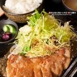 彩華 - 料理写真:彩華トンテキ