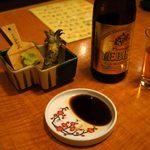 博多 一梅 - 刺身盛り合わせの山葵セット