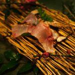 博多 一梅 - イサキの炙り、香ばしい♪
