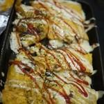 とんぼ - チーズ平焼き