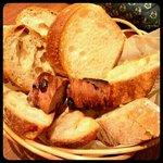 まちのパーラー - パン盛り