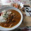 ティー・フォー・ツー - 料理写真:北インド風カレー(サラダ付) \700