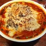 酒と肴と麺の店 田村屋 - 牡蠣とポルチーニ茸のチーズクリーム麺