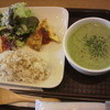 SOUP CAFE Daily Spoon - 料理写真:スープセット、ドリンク付いて880円