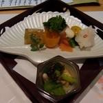 京静香 - 料理写真:先付け