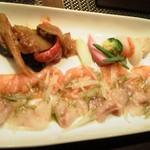 ダヴィンチ - タパス4種盛り どれもおいしい!!