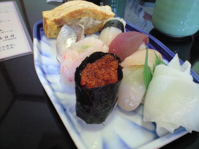 高級鮨膳 あま池