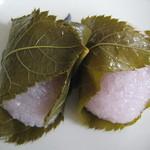 御菓子司 有田屋 - さくら餅 1個94円