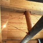 ログストック - 天井